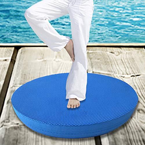 Yogamatte, Yoga, Balance-Pad, perfekt für Physiotherapie, Pilates, Yoga, Ausdauer, Rumpfstabilität, Krafttraining, Bewegung, Reha, weich, bequem, rutschfest