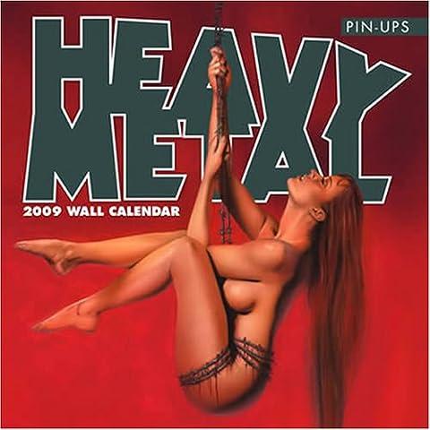 Heavy Metal 2009 Calendar