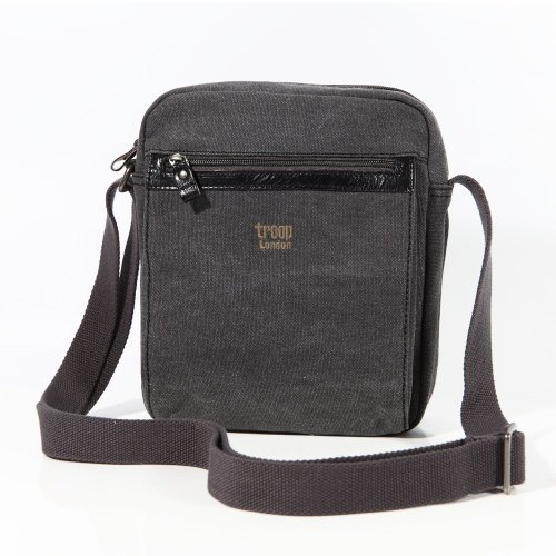 troop-london-0218-bolso-de-mensajero-unisex-tela-color-negro