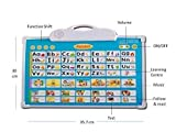 #2: Babytintin Electronic Musical Board for Alphabet ABC Learning Toy Play Mat and Drawing Board with One Doodle Pen Multi Color