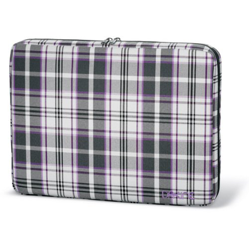 DAKINE Damen Laptophülle Girls Laptop Sleeve LG, Plush Plaid, OS, 8260-020 (Plaid-damen-laptop-tasche)