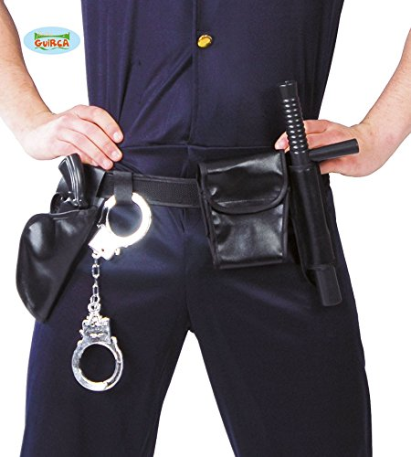 CINTURON DE POLICIA CON ACCESORIOS
