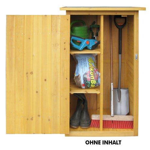 comprare on line HABAU 3103 - Ripostiglio da giardino con tetto piano prezzo
