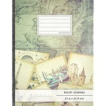 """Bullet Journal • A4-Format, 100+ Seiten, Soft Cover, Register, """"Reisetagebuch"""" • Original #GoodMemos Dot Grid Notebook • Perfekt als Tagebuch, Zeichenbuch, Kalligraphie Buch"""