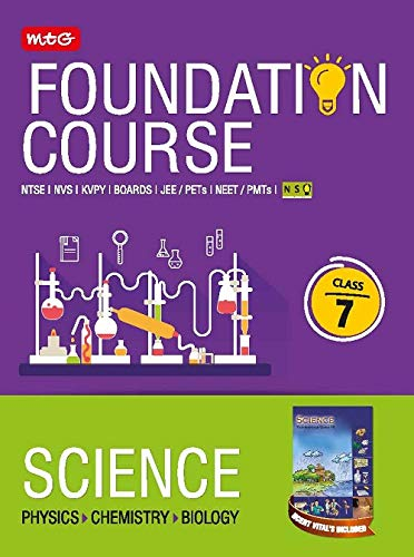 Science Foundation Course For JEE/NEET/NSO/Olympiad -Class 7