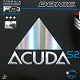 DONIC Belag Acuda S2, 1,8 mm, schwarz