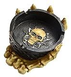 Gothic Skull Ashtray 12 cm