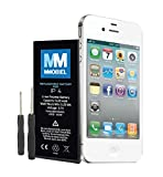 MMOBIEL Battery Compatible with iPhone 4 Li-Ion Replacement Battery 3.7V 1420 mAh 5.25Wh
