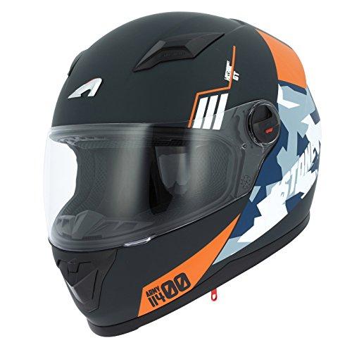 Astone Helmets gt2g-army-bol casco Moto Integral GT, negro, talla L