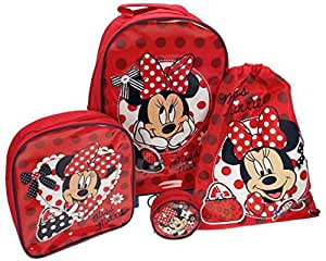 Minnie Mouse Mad About Minnie Luggage Set