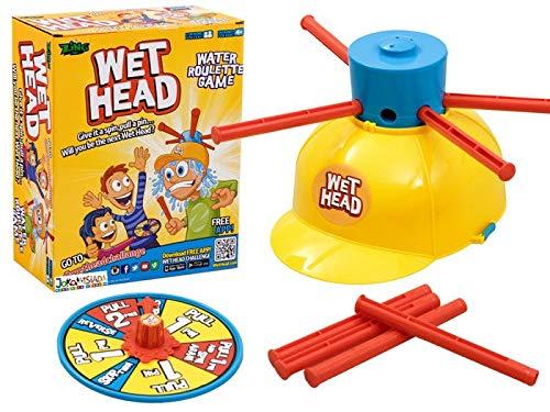 BSD Party-Spiel - Familienspiel - Wet Head - Nasser Kopf Wasserroulette Spiel