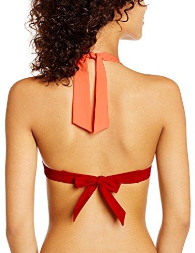 Kiwi Saint Tropez Badeanzug Damen Triangel Bikini oberteil SC5.HWN Orange - Orange (Pêche)