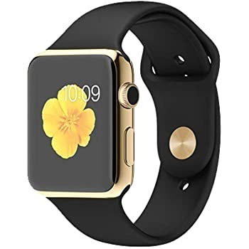 CASVO Xiaomi Mi Max 2 Bluetooth Smart Watch with Camera and Sim Card Support, and Fitness Band Feature (A1 Gold Smartwatch)