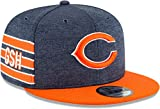 New Era - NFL Chicago Bears 2018 Sideline Home 9Fifty Snapback Cap - Blau Größe Large, Farbe Blau