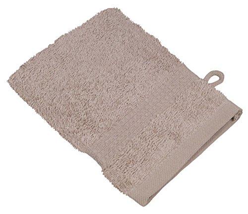 starlabels Serviettes Disponible en 15 couleurs et 5 dimensions doux saugstark 500 g/m², 100% coton, Coton, beige, 15 cm x 21 cm