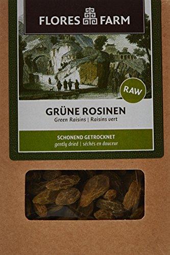 Flores Farm Raisins Secs Verts Bio - Boîte de 100 g