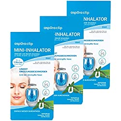 aspUraclip Mini-Inhalator med (3er Pack)