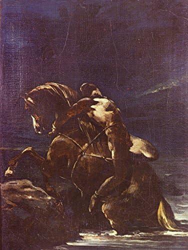 Lais Puzzle Puzzle Puzzle Jean Louis Théodore Géricault - La Page Mazeppa 500 Pieces | Forme élégante  23a067