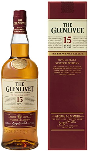 The Glenlivet - Whisky de malta escocés Founders Reserva