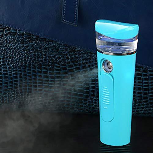 Tragbare Nano Sprühgerät Offene Poren Hautbehandlung für Mitesser und Akne Handfeuchtigkeitsspendende Werkzeuge 26ml, USB-Lade 2600 mAh Power Bank