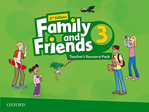Family & Friends 3: Teacher's Resourcep 2ª Edición (Family & Friends Second Edition) - 9780194809313
