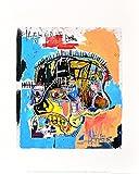 Jean-Michel Basquiat Skull 1981 Poster Kunstdruck Bild 36x28cm - Germanposters