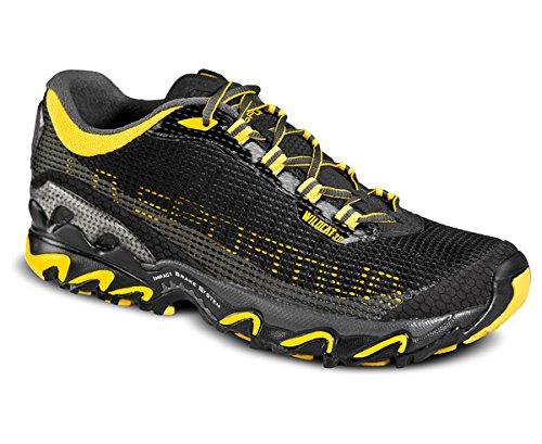 La Sportiva Wild Cat 3.0 - Zapatillas para correr - amarillo/negro Talla 41 2016