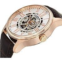 Stührling Original 747.04 - Reloj automático para Hombre, Correa de Cuero, Color marrón de Stuhrling Original