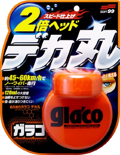 Soft99 4107 Glaco Roll On Large Glass Reiniger,  120 ml Test