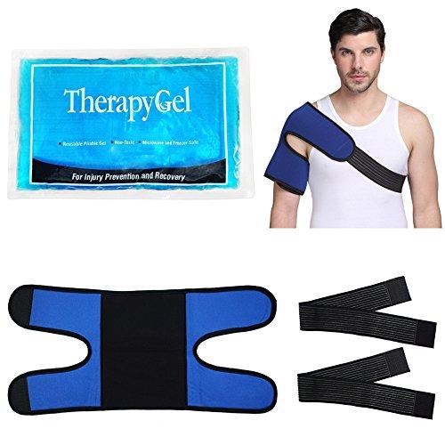 Kalt-Warm Kompresse Schulter Coolpack Kühlkissen kühlpads - Ideal für Schulter Sport Verletzungen, Bursitis, Gelenkschmerzen, Arthritis Schmerzen, Stämme, Verstauchungen