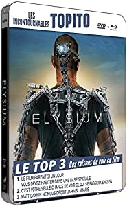 Elysium - Boitier métal - Collection TOPITO - Combo BD + DVD [Blu-ray] [Blu-ray + DVD - Édition boîtier métal FuturePak]