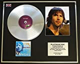 JAMES BLUNT/CADRE CD/DISQUE DE PLATINE ET PHOTO/ EDITION LIMITEE/BACK TO BEDLAM