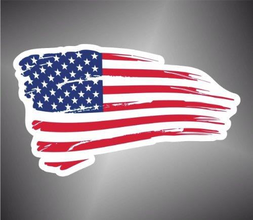 Adesivo Bandiera America Usa Stati Uniti Flag sticker