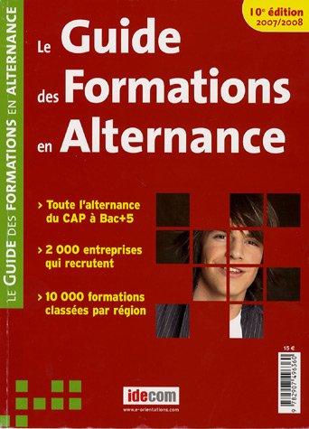 Le Guide des Formations en Alternance 2007-2008