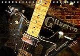 Gitarren - Grunge Style (Tischkalender 2019 DIN A5 quer): E-Gitarren und E-Bässe mit Grunge-Effekten stilvoll in Szene gesetzt (Monatskalender, 14 Seiten ) (CALVENDO Kunst)