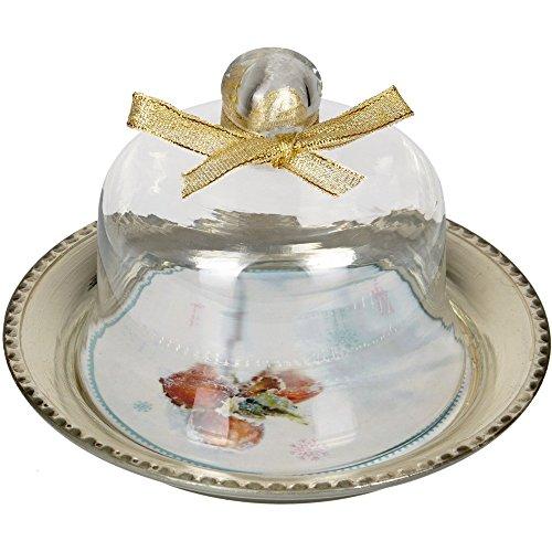Campana de cristal con plato de la Cenicienta. De Spiegelburg