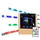 TV Hintergrundbeleuchtung,LED Strip RGB USB Stimmungslicht Für 48 bis 50 Zoll HDTV mit Remote.LED Streifen