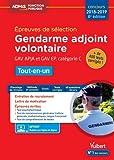 Gendarme adjoint volontaire - GAV APJA et GAV EP - Catégorie C - Tout-en-un - Épreuves de sélection 2018-2019