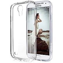 Samsung Galaxy S4 Funda, iVoler TPU Silicona Case Cover Dura Parachoques Carcasa Funda Bumper para Samsung Galaxy S4, [Ultra-delgado] [Shock-Absorción] [Anti-Arañazos] [Transparente]- Garantía Incondicional de 18 Meses