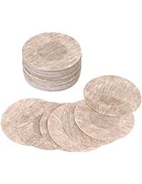 Desechables para de vinilo adhesivo de mama borla sujetador Pegatinas, 10pares