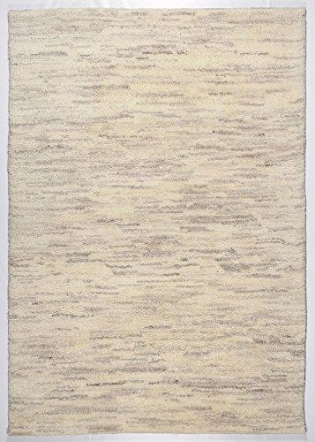 THEKO clásico trabajo manual bereberes variaciones de tamaño de la alfombra de color melange 200 x 300 cm