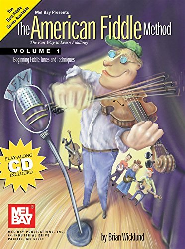 The American Fiddle Method, Volume 1. Partitions, CD pour Violon