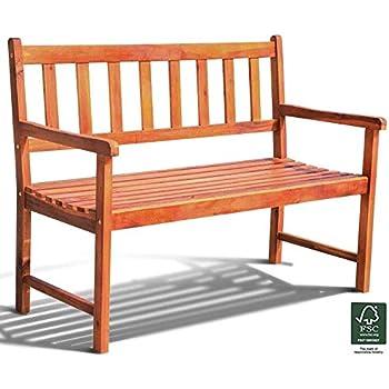 Incredible Harbour Housewares Garden Bench Coated Steel Norwegian Gamerscity Chair Design For Home Gamerscityorg