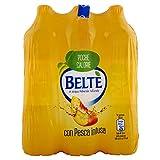 BELTÈ, Bevanda Analcolica di THÈ in Acqua Minerale Naturale con PESCA infusa 1,5l x 6