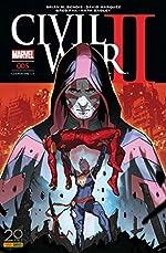 Civil War II nº5 (couverture 1/2) de Brian M. Bendis