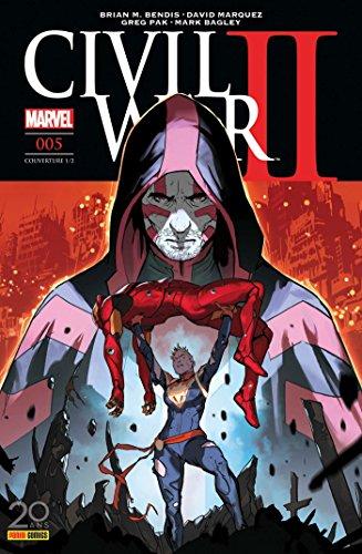 Civil War II nº5 (couverture 1/2)