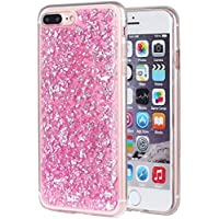 Iphone 7 Plus Case, Ranrou Luxury Bling Glitter Sparkle [Gold