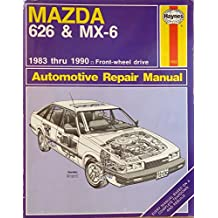 Mazda 626 and MX6 FWD 1983-90 Automotive Repair Manual