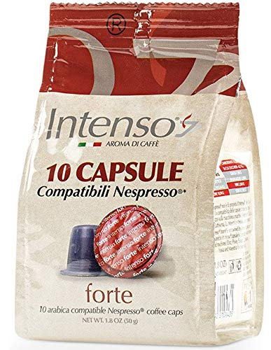 Intenso Forte Espresso, 10 Kapseln im Beutel (Nespresso® kompatibel)