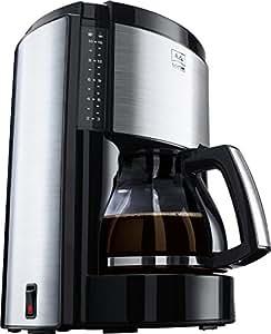 melitta look de luxe kaffeemaschine autom abschaltung tropfstopp schwarz. Black Bedroom Furniture Sets. Home Design Ideas